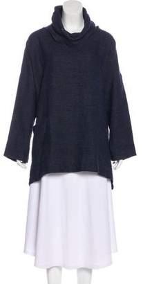 eskandar Oversize Linen Top