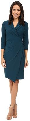 Christin Michaels Loretto Surplice Dress $104 thestylecure.com