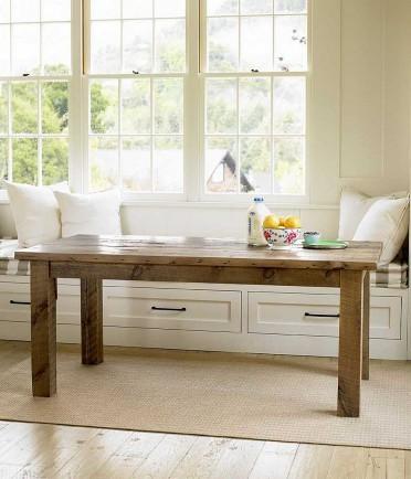 Reclaimed Pine Farm Table
