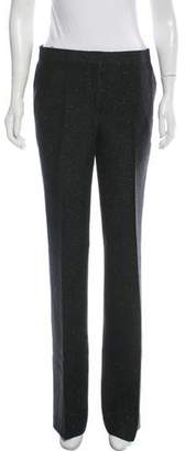Tuleh Tweed Wide-Leg Pants