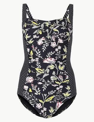 """Marks and Spencer Secret Slimmingâ""""¢ Floral Print Swimsuit"""