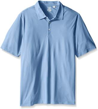 Cutter & Buck Men's Big-Tall CB Drytec Blaine Oxford Polo