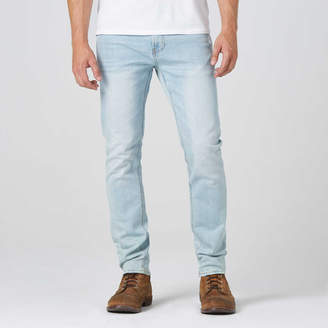 DSTLD Mens Skinny-Slim in Super Light Wash