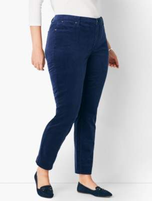 Talbots Slim Ankle Pant - Cords
