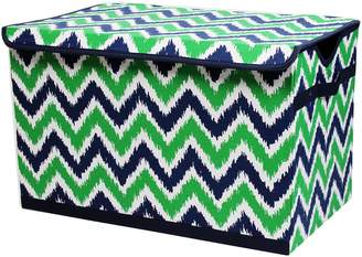 Bacati Zigzag Storage Tote Toy Chest