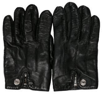 Hermes Nervures Droites Gloves