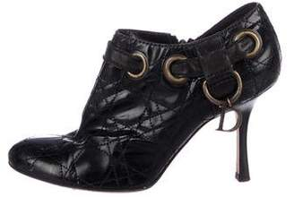Christian Dior Cannage Leather High Heel Pumps