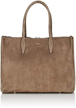 Lanvin Women's Medium Suede Shopper Tote Bag