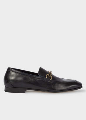 Paul Smith Women's Dark Navy Leather 'Grover' Loafers