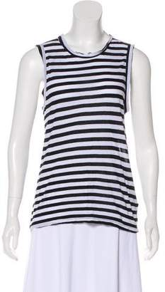 A.L.C. Striped Sleeveless Top