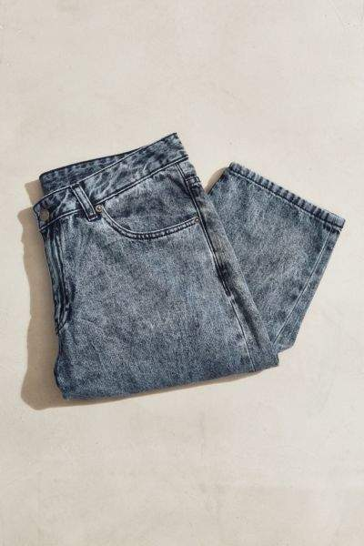Dr. Denim Otis Blue Wash Cropped Jean