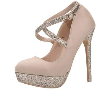 56ea8482984 at Amazon Canada · Mila Louise Lady (ELVA26 Women Fashion Embellished Sparkles  Party Pumps High Heel Stilettos Sexy with