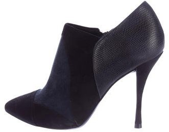 Tory BurchTory Burch Patchwork Pointed-Toe Booties