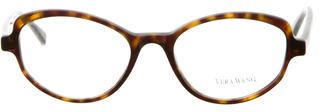 Vera Wang Tortoiseshell Thasia Eyeglasses $125 thestylecure.com