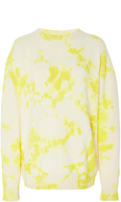 The Elder Statesman Tie-Dye Cashmere Sweater
