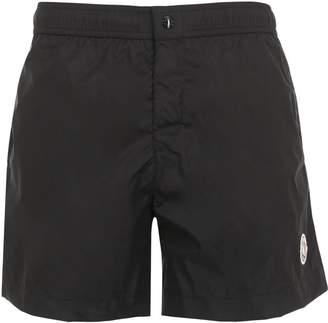 Moncler Logo Nylon Swim Shorts
