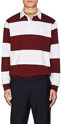 Acne Studios Men's Nichols Striped Cotton Polo Shirt