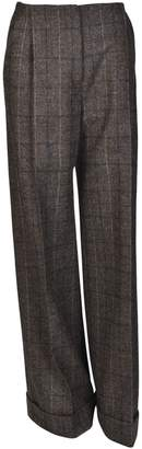 Mulberry Checked Trousers
