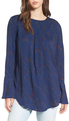Women's Treasure & Bond Bell Sleeve Top $69 thestylecure.com