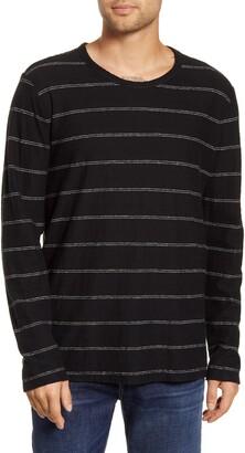 BHLDN Tilden Stripe Long Sleeve Hemp & Organic Cotton T-Shirt
