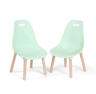 B. Toys B. Kid Century Modern, Mint Chair Set