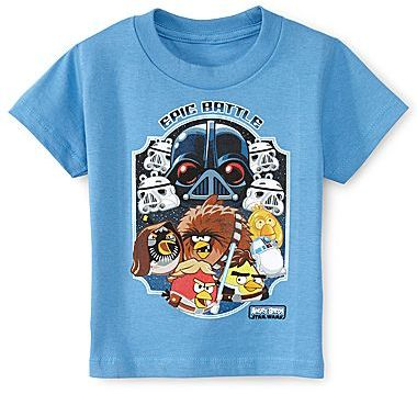 Star Wars Angry Birds Graphic Tee - Boys 2t-5t