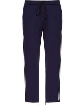 Valentino drawstring trousers blue