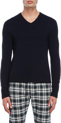 Faith Connexion V-Neck Cashmere Sweater