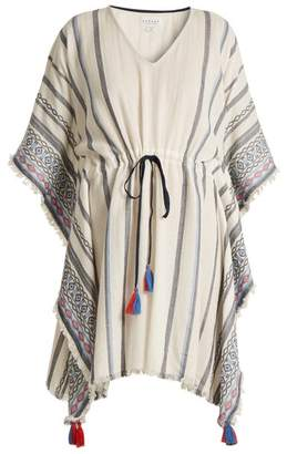 Velvet by Graham & Spencer Adalina Striped Cotton Dress - Womens - Cream Multi