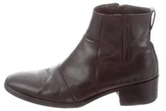 Christian Dior 2009 Leather Ankle Boots