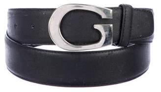 Gucci Leather G Logo Belt