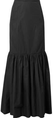 Derek Lam Cotton-poplin Maxi Skirt - Black