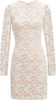 Nightcap Clothing Ivory Sweater Lace Dress