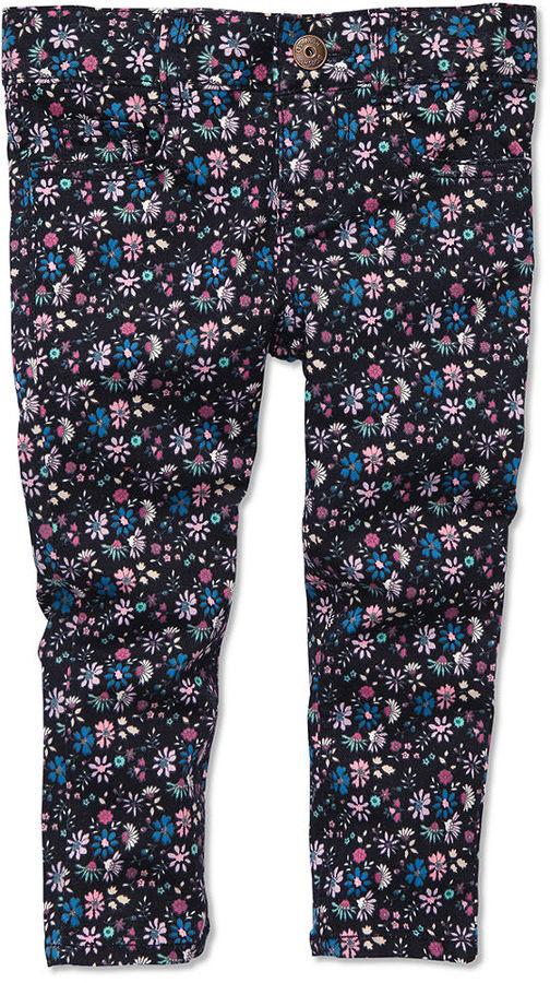Osh Kosh Kids Jeans, Little Girls Floral Skinny Jeans