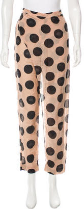 Marysia Swim Polka Dot Draped Pant w/ Tags $70 thestylecure.com