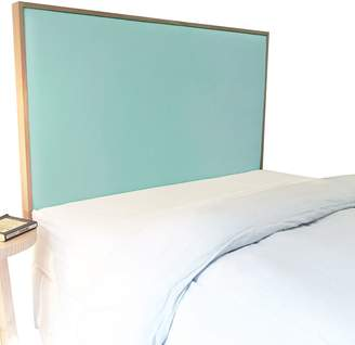 Cornermill Made in Australia Panama Lagoon Upholstered Bed Head, Wall Mounting, Single