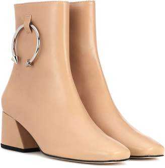 Dorateymur Nizip leather ankle boots