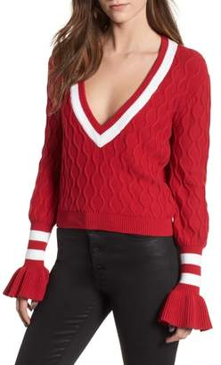 The Fifth Label Graduate Bell Sleeve Sweater