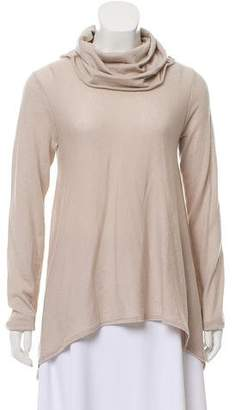 Alice + Olivia Wool and Cashmere Blend Turtleneck Top