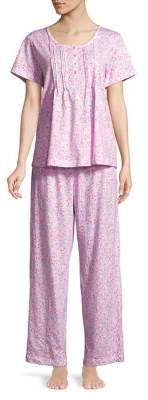 Carole Hochman Plus Printed Pajama Set
