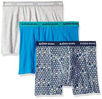 Bjorn Borg Men's 3p Shorts Bb Triangline