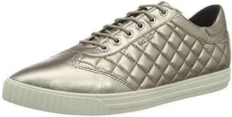 Geox D AMALTHIA D, Women's Sneakers, Gold, (40 EU)