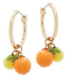 Natasha Fruit Hoop Earrings