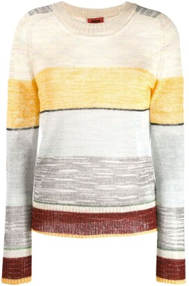 Missoni elbow patch sweater