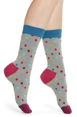 Happy Socks Dot Crew Socks