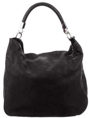 Saint Laurent Vintage Leather & Stingray Hobo Bag
