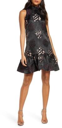Taylor Dresses Embroidered Jacquard Dress