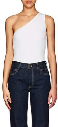 ATM Anthony Thomas Melillo Women's Rib-Knit Micromodal One-Shoulder Bodysuit