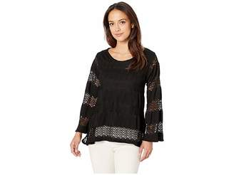 Nally & Millie Lace Trapeze Top