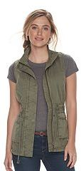 Women's SONOMA Goods for LifeTM Utility Vest $50 thestylecure.com
